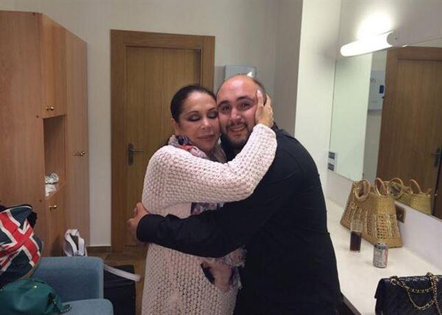 Kiko Rivera visita fugaz a Madrid tras grabar con su madre un nuevo tema de la cantante