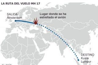 Un misil derriba en Ucrania un avión de la aerolínea Malaysia Airlines con 298 personas a bordo