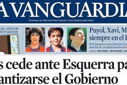 'La Vanguardia' compensa a Pujol and Cia por las multimillonarias subvenciones recibidas