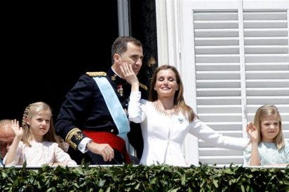 Las cuentas reales: El acto de proclamación de Felipe VI costó 132.000 euros a las Cortes Generales