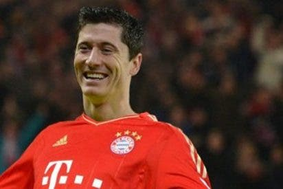 El tremendo golazo de Lewandowski con el Bayern