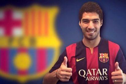 El 'mordedor' Luis Suárez es del Barça hasta 2019 por 81 millones de euros