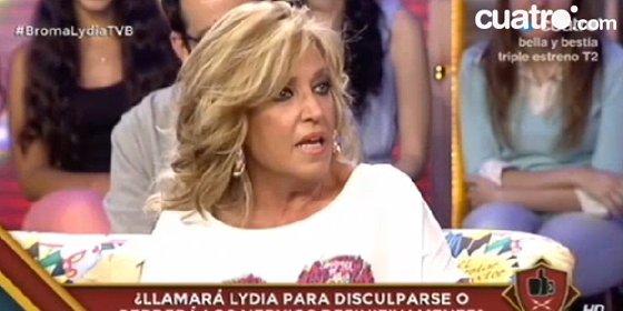 """La broma de 'Todo va bien' (Cuatro) que sacó de quicio a Lydia Lozano: """"¡Nadie me llama cerda!"""""""