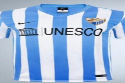El Málaga presenta su nueva camiseta