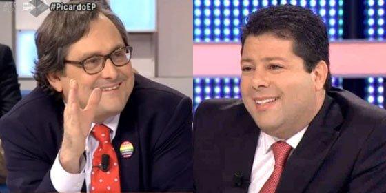 """Picante conversación entre Marhuenda y el ministro principal de Gibraltar en 'Espejo Público': """"¡Un día me pides que me case contigo!"""""""