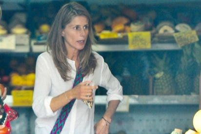 María Chavarri disfruta de sus vacaciones en Ibiza