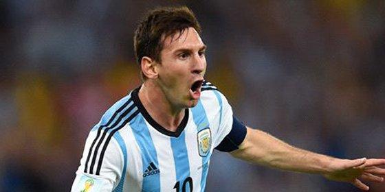 Mascherano hace llorar a Messi