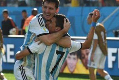 Di María y Messi salvan a Argentina de los penaltis ante Suiza (1-0)