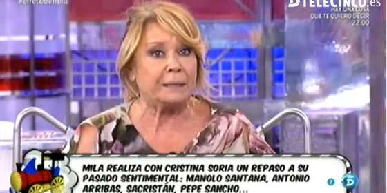 """El dolor y el rechazo de Mila Ximénez al hablar del actor Pepe Sancho: """"Es una parte de mi vida que no quiero recordar"""""""