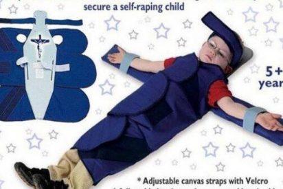 Indignación por un artefacto que 'crucifica' a los niños para que no se masturben