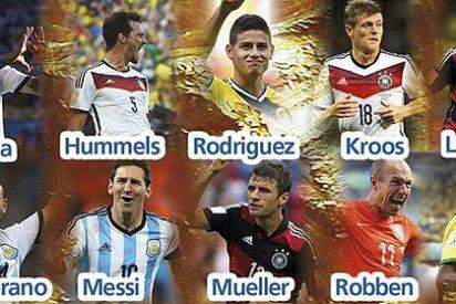 Kroos y James, 'los dos del Real Madrid', entre los diez candidatos al MVP del Mundial