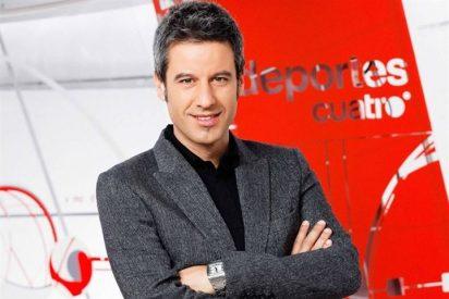 """Nico Abad será el nuevo presentador de """"Deportes Cuatro Noche"""""""