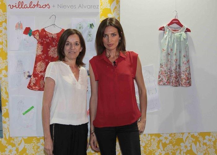 Nieves Álvarez presenta su nueva colección de moda infantil en FIMI