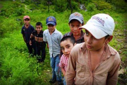 Niños emigrantes, atraídos por un bulo