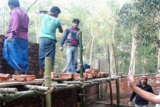 Los Maristas construyen una escuela para los niños de las plantaciones de té de Moulovibazar, Bangladesh