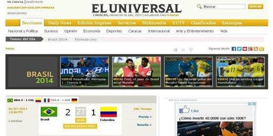Una misteriosa empresa española da la campanada y compra el periódico venezolano 'El Universal'