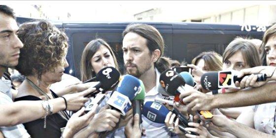Pablo Iglesias propone un control de los medios de comunicación españoles al estilo bolivariano