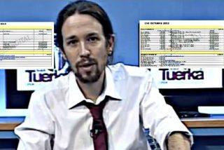 Pablo Iglesias pone en práctica el capitalismo salvaje en La Tuerka: sueldos miserables de 500 euros