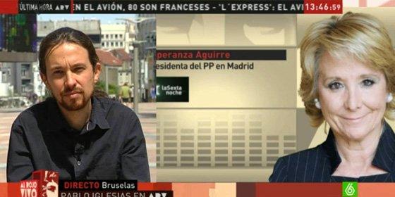 """El 'miura' de Podemos que llamó """"mercenaria"""" a San Sebastián exige ahora debates sin insultos"""