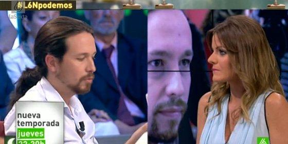 Iñaki López vuelve a ejercer de 'nanny-presentador' al salvar a Pablo Iglesias de un buen rapapolvo en 'laSexta Noche'