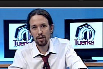 """Los 'consejos vendo y para mí no tengo' de Iglesias: tilda de """"vergüenza"""" sueldos de 300 € y sólo paga 100 a sus cámaras"""