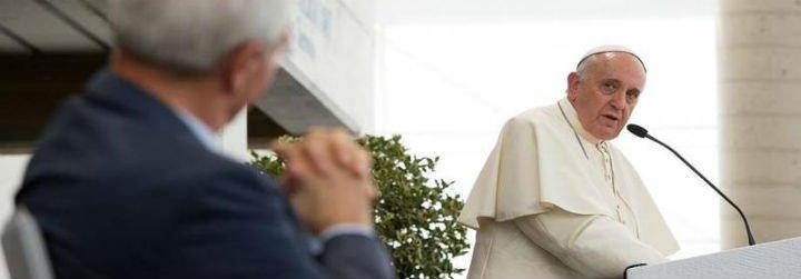 "Giovanni Traettino, conmovido por la ""humanidad"" del Papa"