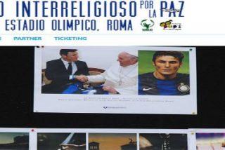 """El Papa """"convoca"""" a Messi, Zanetti, Zidane y Eto'o para un partido por la Paz"""