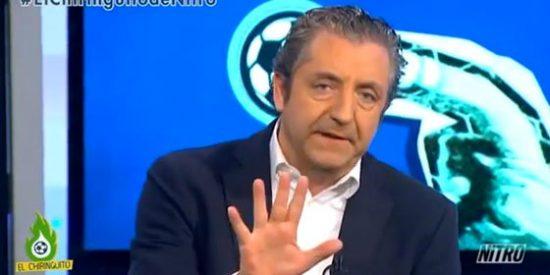 """Pedrerol: """"Los brasileños han dado la cara después de la derrota, ¡qué diferencia con los nuestros!"""""""