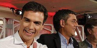 Dos grandes pedrolos en el camino de 'fantasía' del nuevo secretario general Pedro Sánchez