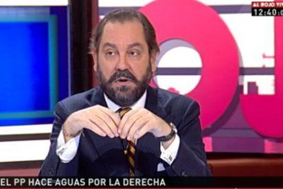 El 'aristócrata' Pérez-Maura manda a tomar viento a Lara y dice que no volverá a laSexta