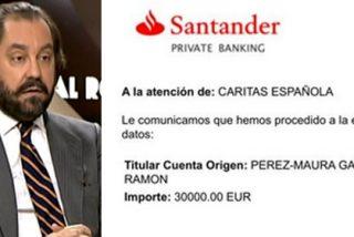 Pérez-Maura palma 30.000€ tras apostarse con Carlotti que él no cobró esa cifra en 'Al Rojo Vivo'