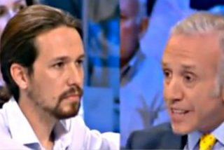 "Eduardo Inda a Pablo Iglesias: ""Eres de los que apoyan en Madrid a los [etarras] que mataron a 900 personas"""