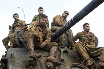Brad Pitt vuelve a la II Guerra Mundial, esta vez en un tanque lleno de 'corazones de acero'
