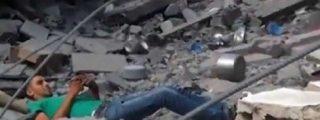 [Vídeo] Muere implorando a Alá, tras ser 'cazado' por un francotirador israelí en Gaza