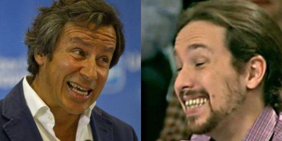 """¿Demandará el justiciero Pablo Iglesias a Floriano por llamarle 'disimuladamente' """"telepredicador bolivariano""""?"""