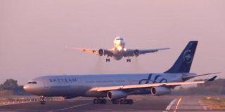 El vídeo del avión que evitó por los pelos una masacre en el Aeropuerto de El Prat