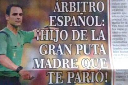 Colombia entera cree que el les robaron el partido contra Brasil y carga contra el árbitro