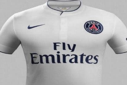 El PSG muestra su segunda camiseta