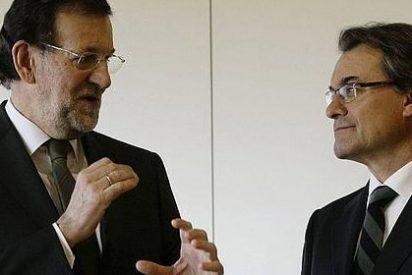 "Rajoy ofrece reunirse con Mas: ""Si me llama mañana, viene mañana"""