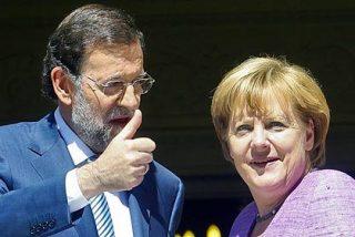 Merkel culmina su romance político con Rajoy dándole 'pasaporte' al pasmado de Artur Mas
