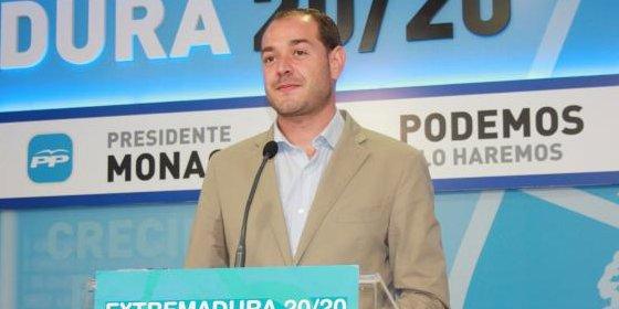 """Ramírez: """"Vara se queda en Extremadura porque no tiene otro remedio"""""""