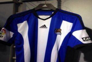 La nueva camiseta de la Real Sociedad