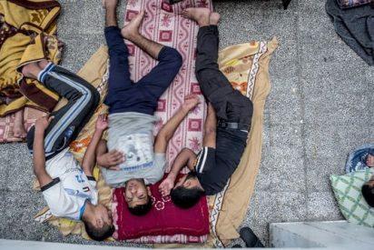 Cristianos ortodoxos de Gaza abren su iglesia a refugiados