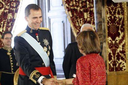 El Rey Felipe VI, recibe por primera vez las cartas credenciales de los nuevos Embajadores