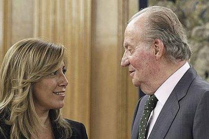 Justo antes de abdicar, Don Juan Carlos pidió a Susana Díaz que fuera la líder del PSOE