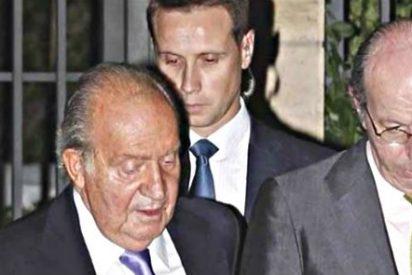 La primera salida de Don Juan Carlos refuerza los rumores sobre 'boda a la vista'