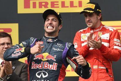 Fernando Alonso obra el milagro y rompe, con Ricciardo, la hegemonía de Mercedes
