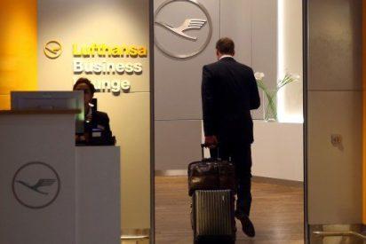 Cómo ponerse morado gratis en la sala VIP de Lufthansa durante un año... hasta que te pillan por glotón