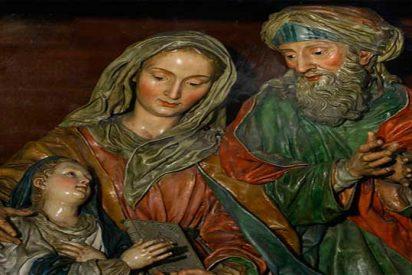 En el hogar de Joaquín y Ana, abuelos de Jesús, nació María