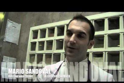 El cocinero madrileño Mario Sandoval se alza con el Premio Nacional de Gastronomía